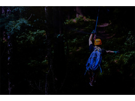 Flying Fox bei Nacht in der Vulkaneifel