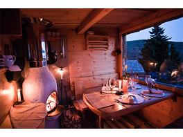 Luxus Hütten-Dinner mit Privat-Koch in Kaernten für 2