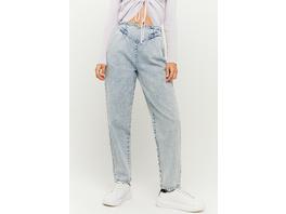 High Waist Fancy Mom Jeans