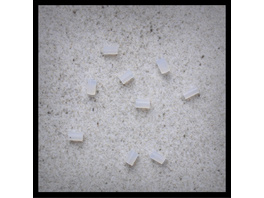 Ohrringgummis - Weiß