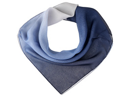 Bandana - White Blue