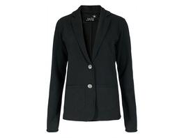 JUVIA Jersey-Blazer mit offenen Kanten