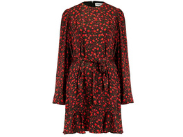 ESSENTIEL ANTWERP Mini-Kleid Ws mit floralem Muster