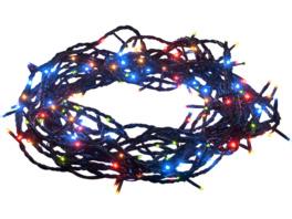 KONSTSMIDE Micro LED Lichterkette mit Multifunktion, 180 bunte Dioden Micro LED Lichterkette mit Multifunktion, Mehrfarbig