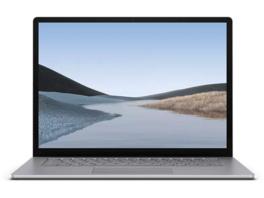 MICROSOFT Surface Laptop 3, Notebook mit 15 Zoll Display, Touchscreen, Ryzen™ 5 Prozessor, 8 GB RAM, 128 GB SSD, Radeon Vega 9 Grafik, Platinum
