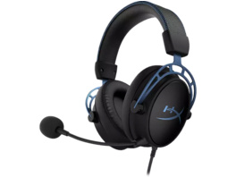 HYPERX, HX-HSCAS-BL/WW, Cloud Alpha S, Gaming Headset, Schwarz/Blau