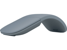 MICROSOFT Surface Arc Mouse Funkmaus, kabellos, Ice Blue