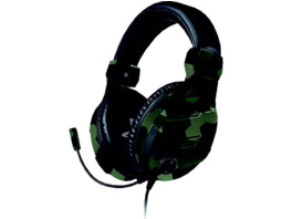 BIGBEN Stereo Gaming Headset für PS4™ Gaming Headset, Camouflage/Grün