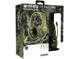 KONIX Mythics – PS-400 Camouflage Gaming Headset, Camouflage