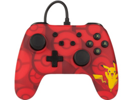 POWER A Nintendo Switch Wired Controller im Pokemon Pikachu Style Controller, Rot