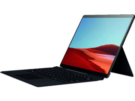 MICROSOFT Surface Pro X 8GB/256GB SQ1, Convertible mit 13 Zoll Display, 8 GB RAM, 256 GB SSD, Microsoft® SQ1™ Adreno™ 685 GPU, Schwarz