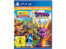 Spyro Reignited Trilogy + Crash Team Racing Nitro Fueled Bundle - PlayStation 4