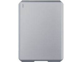 "LACIE Mobile Drive 2TB, USB-C, in Apple ""Space Grey"", 2 TB HDD, extern"