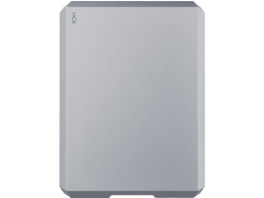 """LACIE Mobile Drive 4TB, USB-C, in Apple """"Space Grey"""", 4 TB HDD, extern"""