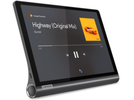 LENOVO Yoga Smart Tab, Tablet, 32 GB, 3 GB RAM, 10.1 Zoll, Android 9, Iron Grey
