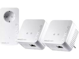 Powerline Adapter DEVOLO 8570 Magic 1 WiFi mini Multiroom Kit 1200 Mbit/s Kabellos und Kabelgebunden