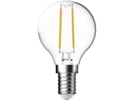 OK. OKLED-AE14-G45F-2.5W  LED-Lampe, Weiß