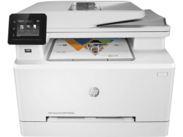 HP Color LaserJet Pro MFP M283fdw , Multifunktionsdrucker, Weiß