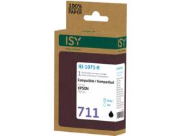 ISY IEI-1071-B Tintenpatrone wiederaufbereitete Tintenpatrone 711 Schwarz