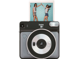 FUJIFILM instax SQUARE SQ6 Travel Set Sofortbildkamera, Graphite Gray