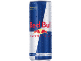 RED BULL Energy Drink , Silber/Blau