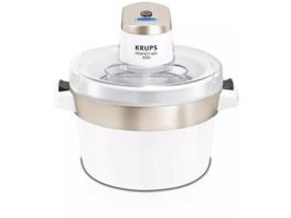 KRUPS GVS241 Perfect Mix 9000, Eismaschine, 6 Watt, Chrom/Weiß