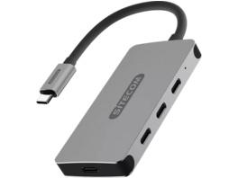 SITECOM CN-386 USB Hub, Silber