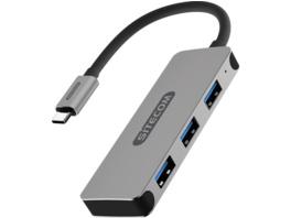 SITECOM CN-387 USB Hub, Silber