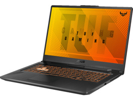 ASUS TUF Gaming A17 (FA706IU-AU174T), Gaming Notebook mit 17.3 Zoll Display, Ryzen™ 5 Prozessor, 8 GB RAM, 512 GB SSD, GeForce® GTX 1660 Ti with ROG Boost, Bonfire Black