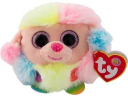 TY Rainbow Pudel Puffies Plüschfigur, Mehrfarbig