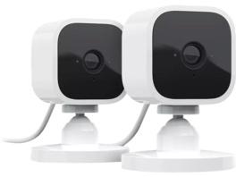 BLINK B07X7CQBJP MINI 2 CAMERA SYSTEM Überwachungskamera, Auflösung Video: 1080p, Weiß