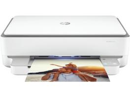 HP ENVY 6032 inkl. 9 Monate Instant Ink, Multifunktionsdrucker, Weiß