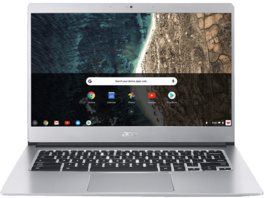 ACER Chromebook 514 (CB514-1HT-P1BM), Chromebook mit 14 Zoll Display, Touchscreen, Pentium® Prozessor, 8 GB RAM, 64 GB eMMC, Intel® HD-Grafik 505, Silber
