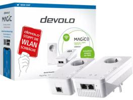 Powerline Adapter DEVOLO 8614 Magic 2 WiFi next Starter Kit 2400 Mbit/s Kabellos und Kabelgebunden