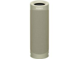 SONY SRS-XB23 tragbar, kabellos, 12h Akkulaufzeit, EXTRA BASS, Bluetooth Lautsprecher, Wasserfest, Beige