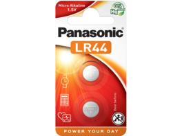 PANASONIC 2B120571 LR44L/2BP LR44 Knopfzelle, Alkaline, 1.5 Volt