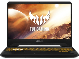 ASUS TUF Gaming FX505DV-HN311T, Gaming Notebook mit 15.6 Zoll Display, Ryzen™ 7 Prozessor, 16 GB RAM, 512 GB SSD, GeForce RTX™ 2060, Stealth Black
