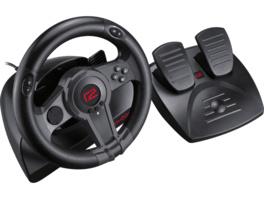READY 2 GAMING Nintendo Switch Racing Wheel, Lenkrad mit Pedalen, Schwarz