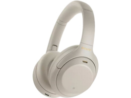 SONY WH-1000XM4 Noise Cancelling, Over-ear Kopfhörer, Near Field Communication, Headsetfunktion, Bluetooth, Silber