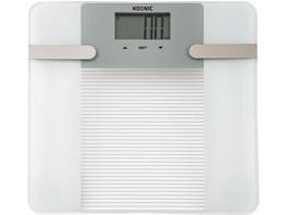 KOENIC KPS 15121 W, Körperanalysewaage, Weiß
