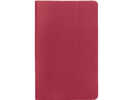 TUCANO 61605 Tablethülle, Bookcover, Rot, passend für: Samsung Galaxy Tab S6 lite