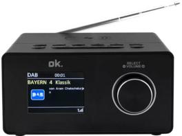 OK. OCR 530-B, Radiowecker, Schwarz