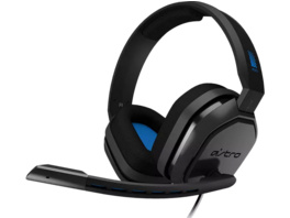 ASTRO GAMING A10 for PS4 & PS5, Gaming Headset, Grau/Blau