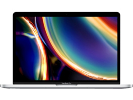 APPLE MWP72D/A-3887134 MacBook Pro, Notebook mit 13.3 Zoll Display, Core™ i5 Prozessor, 16 GB RAM, 512 GB SSD, Intel Iris Plus Grafik, Silber