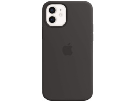 APPLE MHKX3ZM/A mit MagSafe Handyhülle, Apple iPhone 12 mini, Schwarz