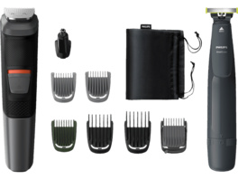 PHILIPS Multigroom Series 5000 MG5716 - Präszisions-Trimmer, Multigroomer, Grau