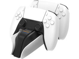 SNAKEBYTE snakebyte PS5 TWIN:CHARGE 5™ (WHITE) Zubehör für PS5, Schwarz/Weiß