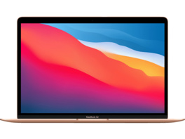 APPLE MacBook Air (M1,2020) MGND3D/A, Notebook mit 13.3 Zoll Display, 8 GB RAM, 256 GB SSD, M1 GPU, Gold
