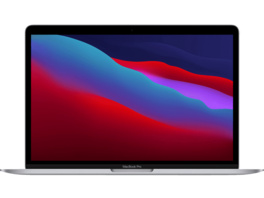 APPLE MacBook Pro (M1, 2020) MYD82D/A, Notebook mit 13.3 Zoll Display, 8 GB RAM, 256 GB SSD, M1 GPU, Space Grau