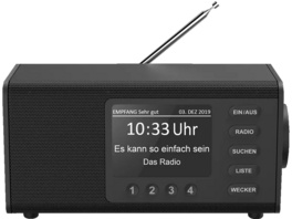 HAMA DR1000DE, DAB-Radio